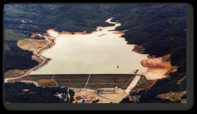马来西亚槟城供水项目大坝 及附属工程