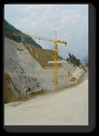 尼泊尔中马相迪水电站